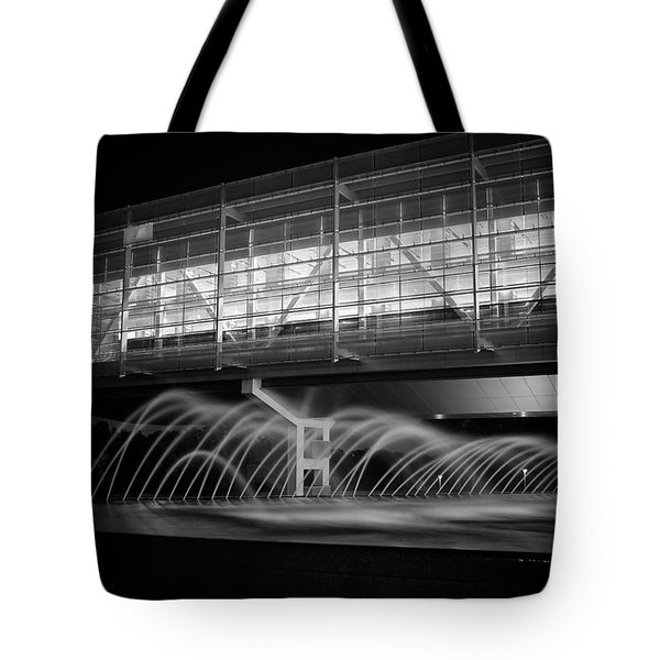 Tote Bag featuring the photograph William J. Clinton Presidential Library by Ben Shields