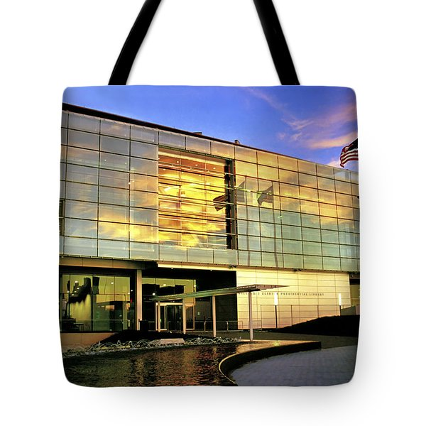 William Jefferson Clinton Presidential Library Tote Bag