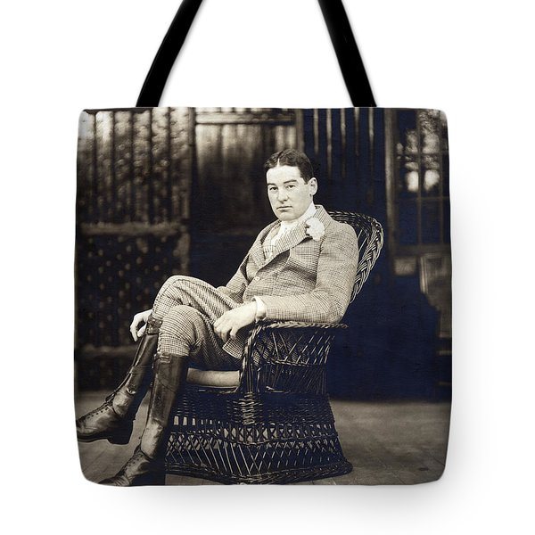 William K. Vanderbilt Tote Bag by Underwood Archives