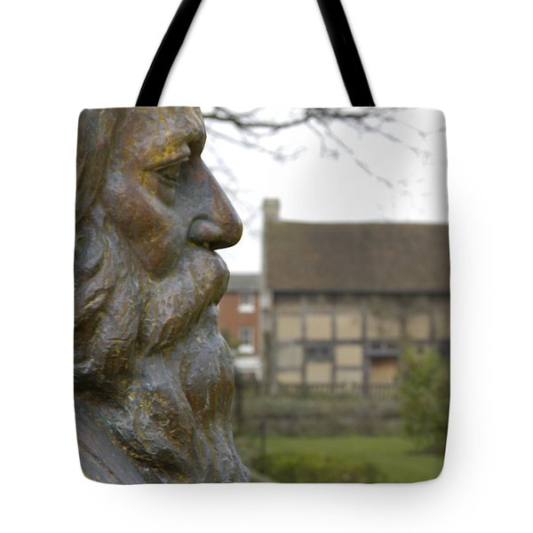 William Shakespeare Home Tote Bag by Mike McGlothlen