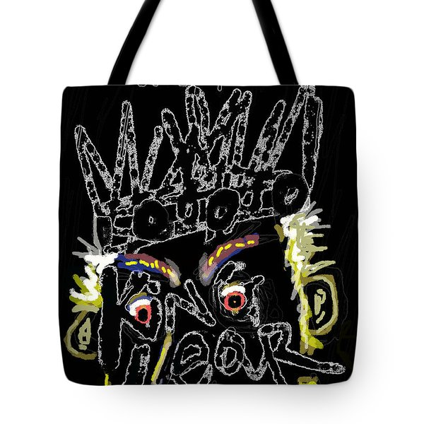William Shakespeare's King Lear Poster Tote Bag