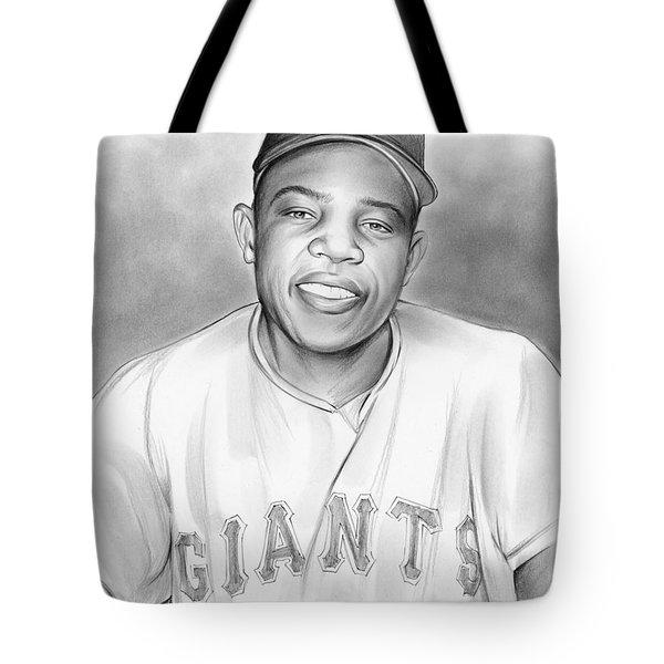 Willie Mays Tote Bag