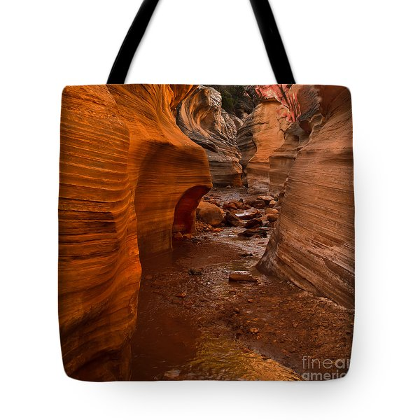 Willis Creek Slot Canyon Tote Bag