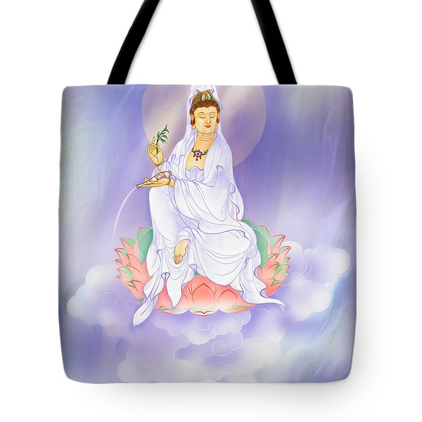 Willow Kuan Yin Tote Bag by Lanjee Chee
