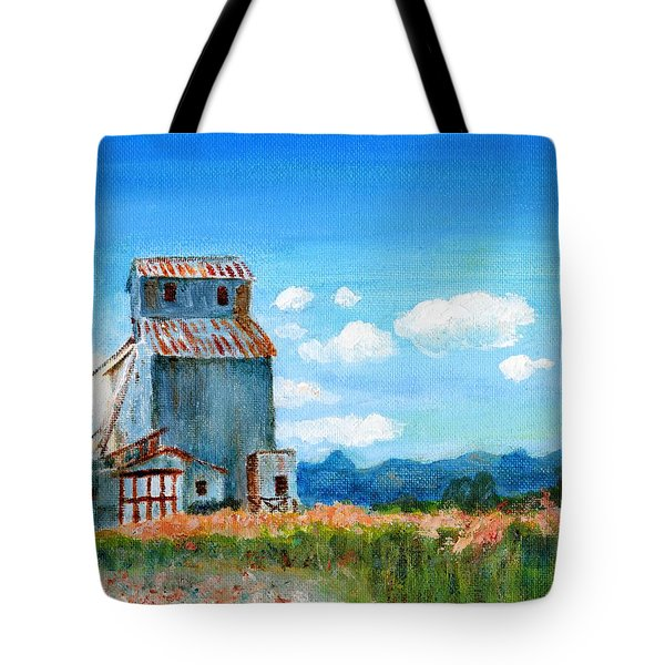 Willow Creek Grain Elevator II Tote Bag