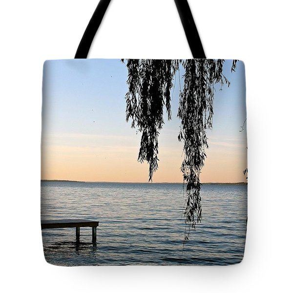 Willow On The Water Tote Bag