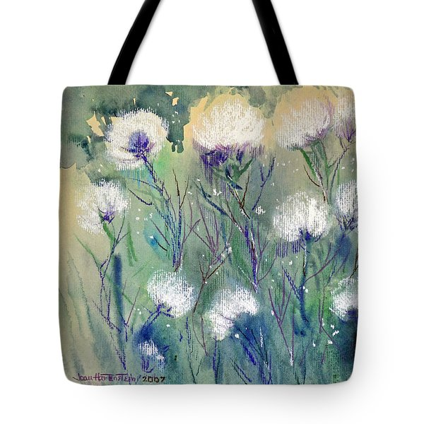 Willowy Whites Tote Bag by Joan Hartenstein