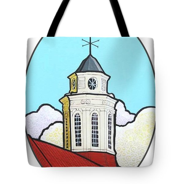 Wilson Hall Cupola - Jmu Tote Bag