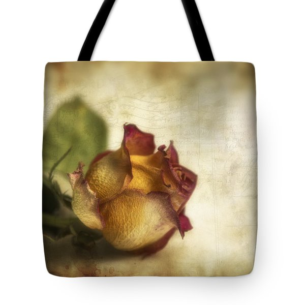 Wilted Rose Tote Bag by Veikko Suikkanen
