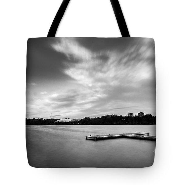 Wimbledon Park Tote Bag by Matt Malloy