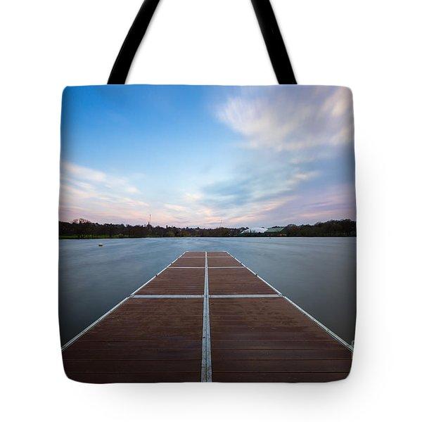 Wimbledon Park Sunset Tote Bag by Matt Malloy