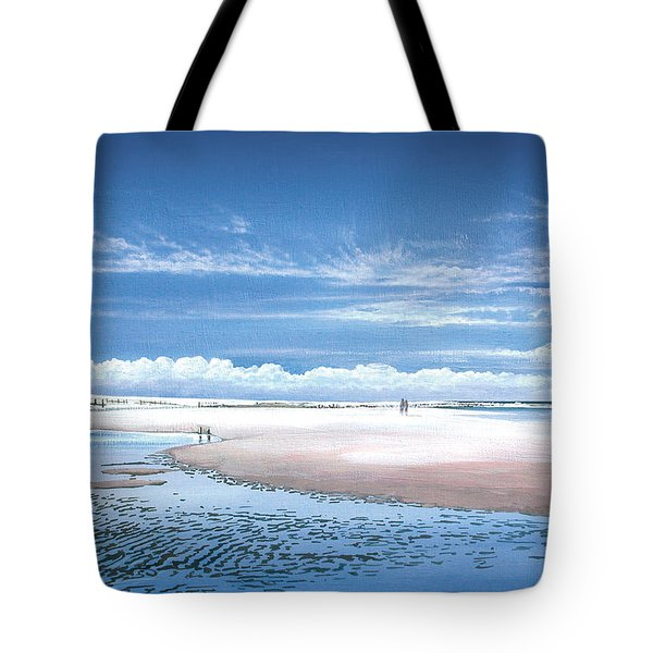 Winchelsea Beach Tote Bag by Steve Crisp