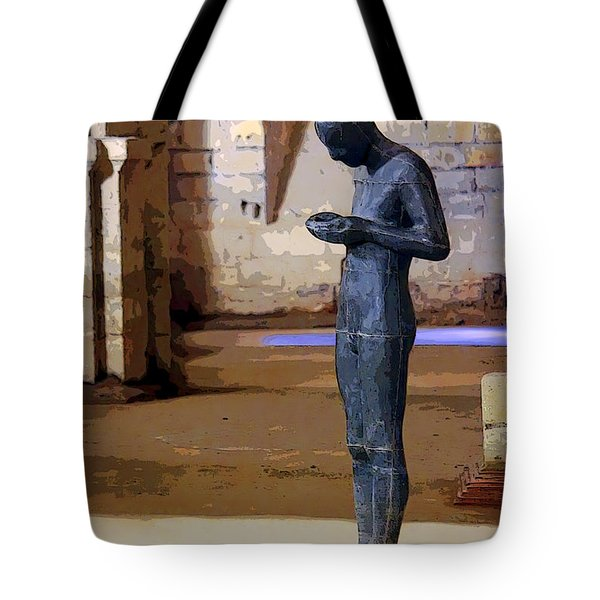 Winchester Crypt Tote Bag