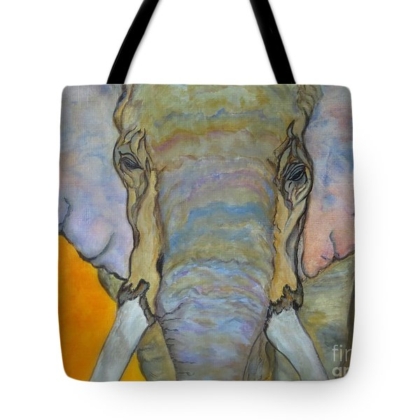 Wind And Fire - Fine Art Painting Tote Bag by Ella Kaye Dickey