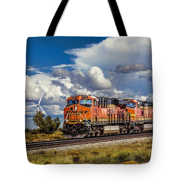 Wind And Rail Tote Bag