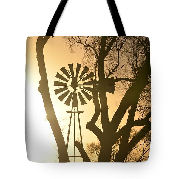 Spinning In The Sundown Tote Bag