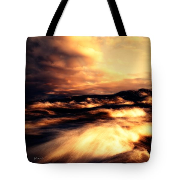 Wind And Water Tote Bag by Bob Orsillo