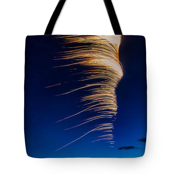 Wind As Light Tote Bag by Michele Steffey