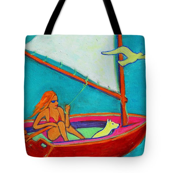 Wind Beneath My Wings I Tote Bag by Xueling Zou