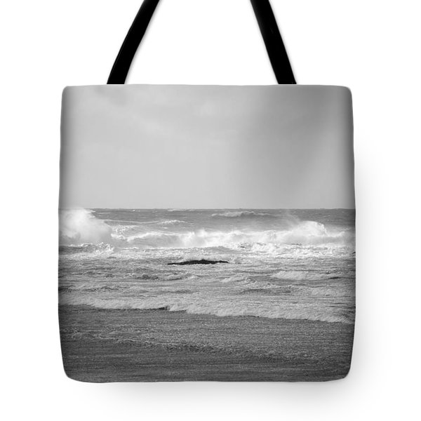 Wind Blown Waves Tofino Tote Bag