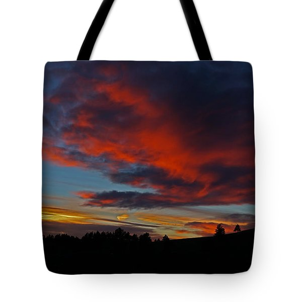 Black Hills Sunset Tote Bag