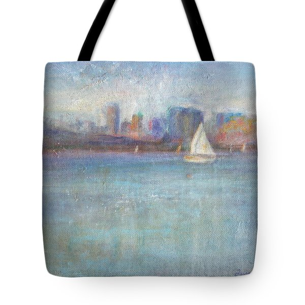 Wind In My Sails Tote Bag