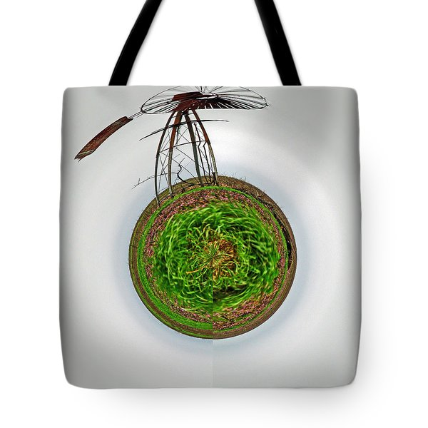 Wind Mill Goes 'round Tote Bag