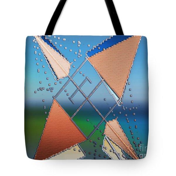 Wind Milling Tote Bag