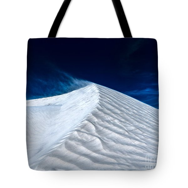 Wind Over White Sands Tote Bag