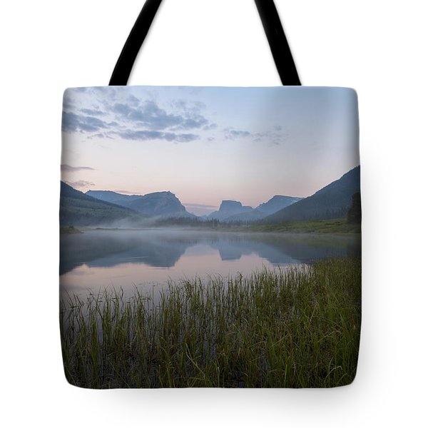 Wind River Morning Tote Bag