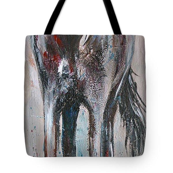 Wind Talker Tote Bag by Cher Devereaux