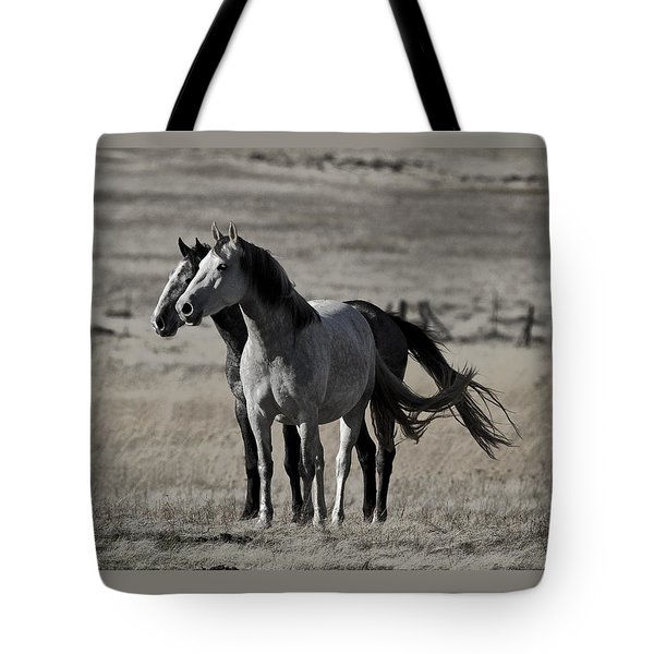 Tote Bag featuring the photograph Windblown D3560 by Wes and Dotty Weber