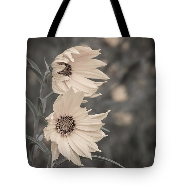 Windblown Wild Sunflowers Tote Bag by Patti Deters