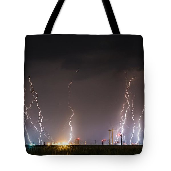 Windfarm Bolts Tote Bag