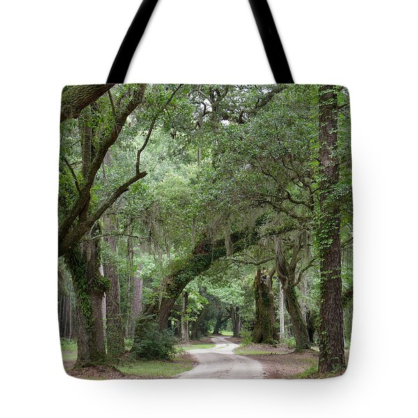 Winding Dirt Road Tote Bag