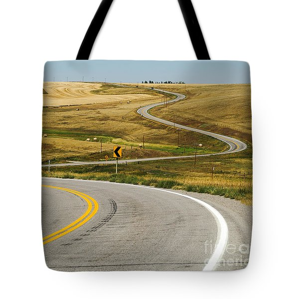 Tote Bag featuring the photograph Winding Road by Sue Smith