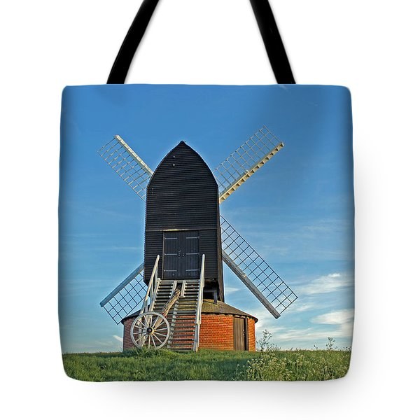 Windmill At Brill Tote Bag