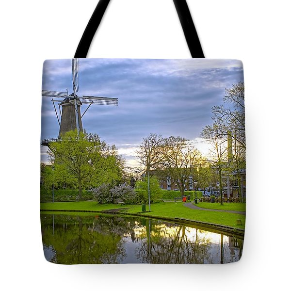 Windmill At Leiden Tote Bag
