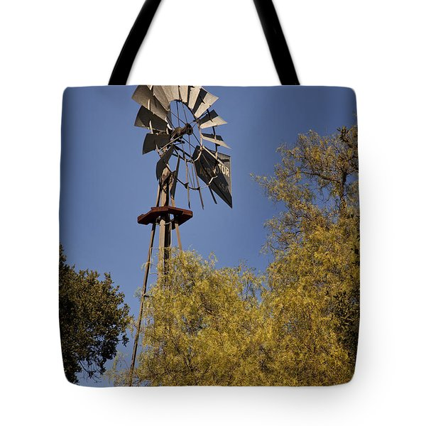 Windmill Tote Bag by David Millenheft