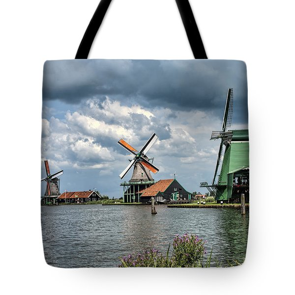 Windmill Trio Tote Bag