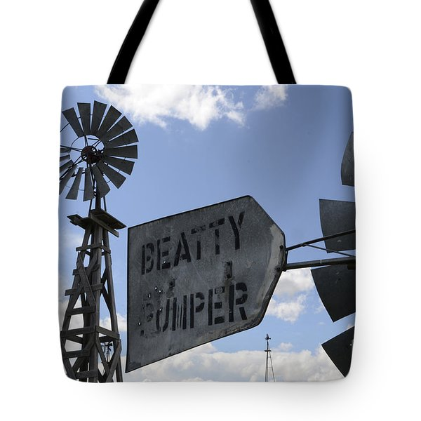 Windmills 1 Tote Bag by Bob Christopher