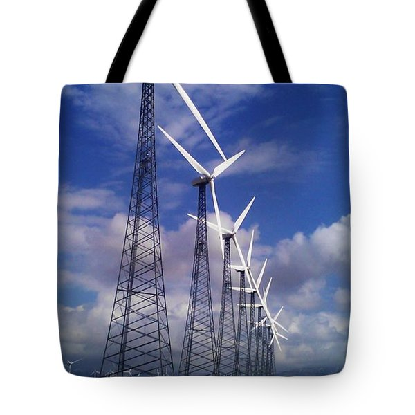 Windmills Tote Bag