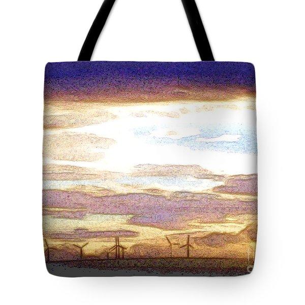 Windmills Tote Bag by Nina Ficur Feenan