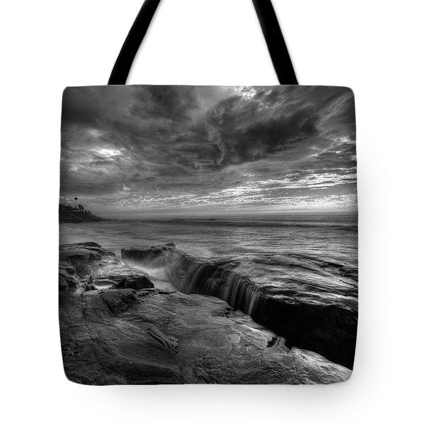 Windnsea Falls Tote Bag