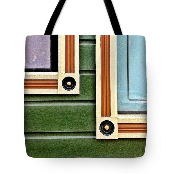 Window Corners Tote Bag