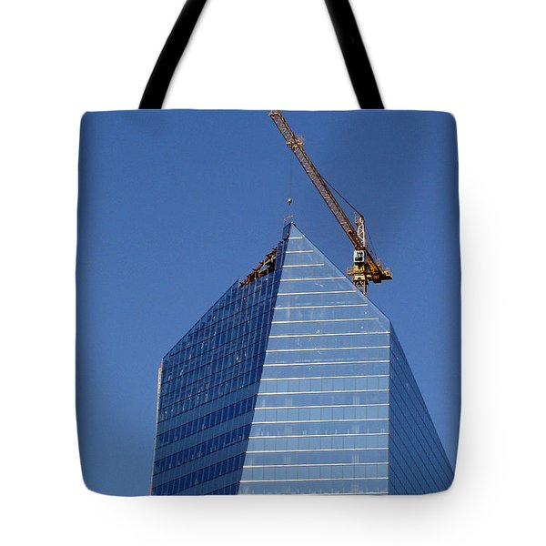 Window Dressing Tote Bag by Lisa Phillips