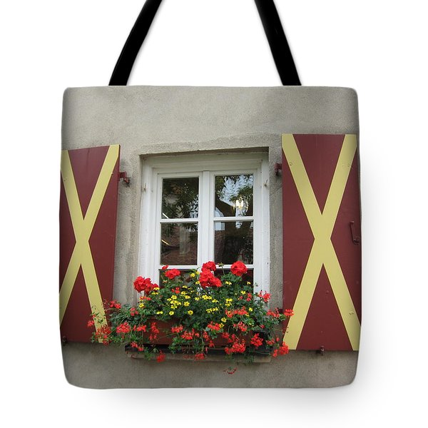 Window Dressing Tote Bag by Pema Hou