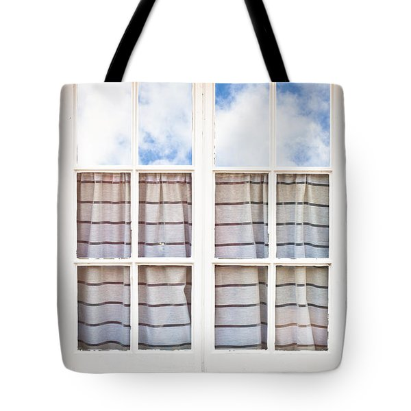 Window Frame Tote Bag by Tom Gowanlock
