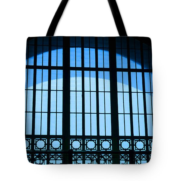 Tote Bag featuring the photograph Window In Chattanooga Train Depot by Susan  McMenamin