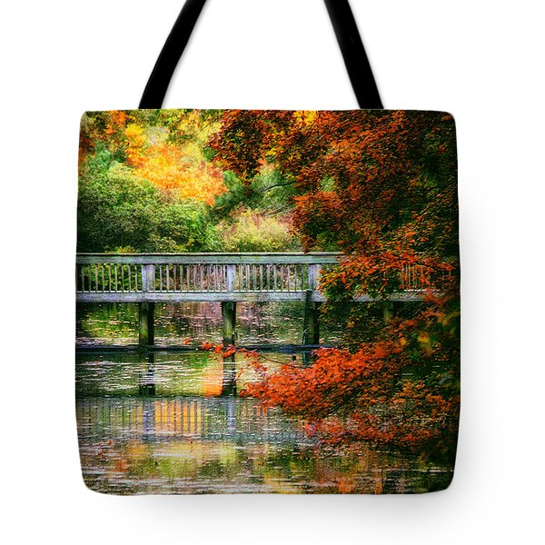 Window Into Autumn Tote Bag